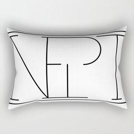 Inept Logo Rectangular Pillow