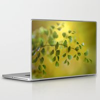 fern Laptop & iPad Skins featuring Fern by Mandy Disher