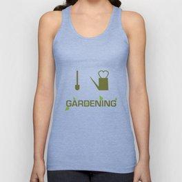 I heart Gardening Unisex Tank Top