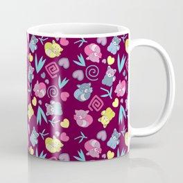 Cute Red Pandas Pattern Coffee Mug