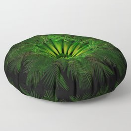 The Majesty Palm Light Flower Floor Pillow
