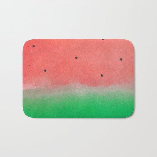 Watermelon Washout #society6 Bath Mat