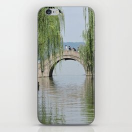 Lakeside Bridge iPhone Skin