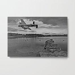 Avro Lancaster Bomber PA474 Metal Print