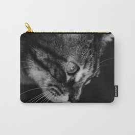 kitten in black and white Carry-All Pouch