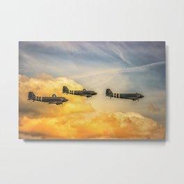 Airshow Metal Print