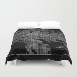 Get Lost in 1903 Duvet Cover