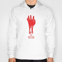 evil dead Hoodies featuring Evil Dead by Alan Coughlan