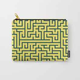 Labyrinth maze n° 17 Carry-All Pouch