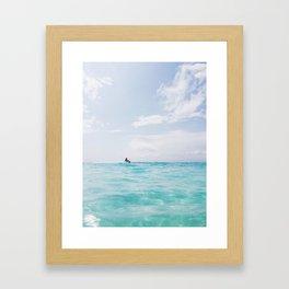 Waverunner Framed Art Print