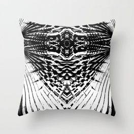 Starship Palm Throw Pillow