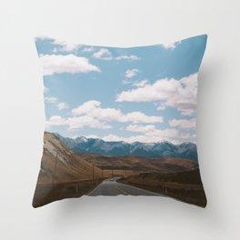 Road to Arthur's Pass I Throw Pillow
