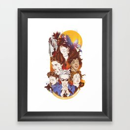 The twelfth hour Framed Art Print