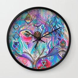 The Goddess Wall Clock