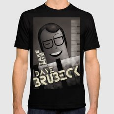 CASSANDRE SPIRIT - Dave Brubeck X-LARGE Black Mens Fitted Tee