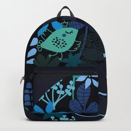 Afro Diva : Sophisticated Lady Teal Backpack