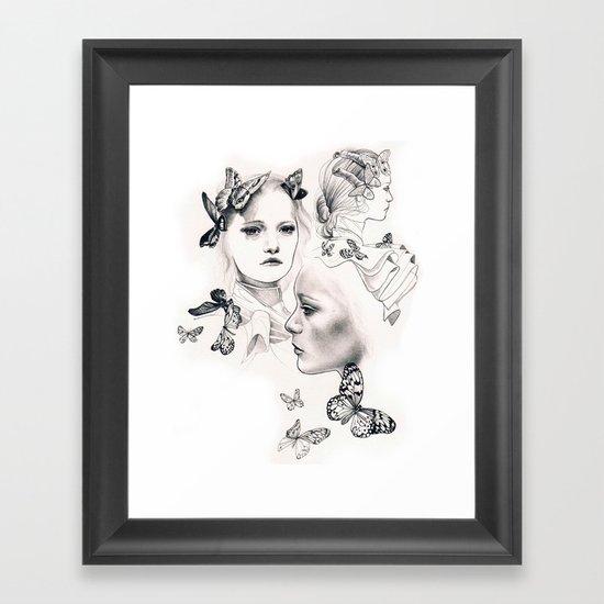 Gemma Ward Framed Art Print