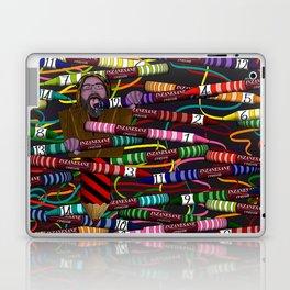 Inzanesane Crayon Stuffffs Laptop & iPad Skin
