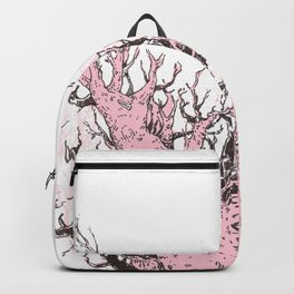 Pink Trees Backpack