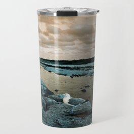 Barnegat Light 3 (seagull) Travel Mug