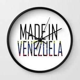 Made In Venezuela Wall Clock
