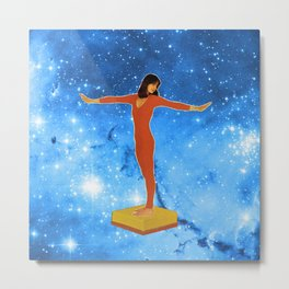 Dive in the stars  Metal Print