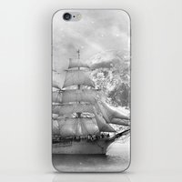 uncharted iPhone & iPod Skins featuring Sailing uncharted waters by Sney1