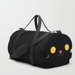 CARBON the kitty (Chibipalz) Duffle Bag