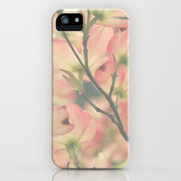Vintage Dogwoods iPhone Case