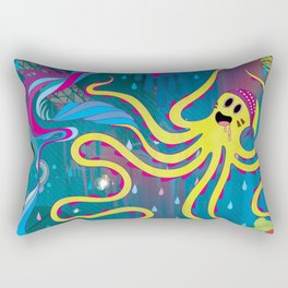 Every Time a Whale Blows Their Spout, a New Dream is Born. Rectangular Pillow