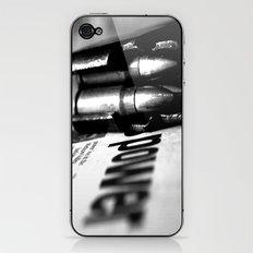 Pen and Sword iPhone & iPod Skin