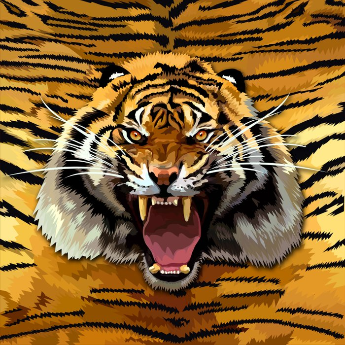 Tiger Roar iPhone 4 4s 5 5c 6, pillow case, mugs and tshirt Duvet Cover