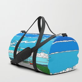 Road to Cape Canaveral Duffle Bag