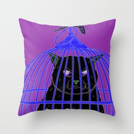 Look Who's Laughing Now Throw Pillow