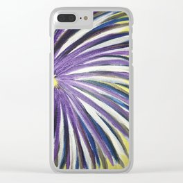 Flower Clear iPhone Case