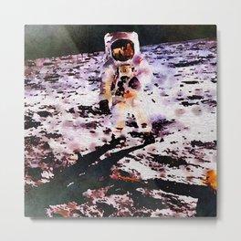 Moon Walk Metal Print