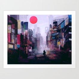 Strange Mornings Art Print