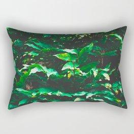 Garden leaf jungle Rectangular Pillow