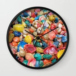 Seashells Wall Clock