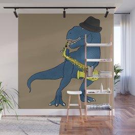 He-Rex Sax Wall Mural