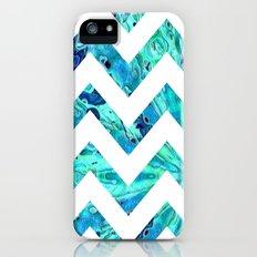 Arctic Blast Chevron iPhone (5, 5s) Slim Case