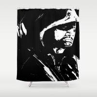 arrow Shower Curtains featuring Arrow by Seth House