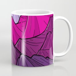 The Purple Mounts Coffee Mug