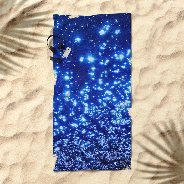 NATURAL SPARKLE Beach Towel