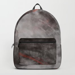 I should have read between the lines- abstract expressive art Backpack