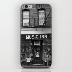 'Music Inn' New York iPhone & iPod Skin
