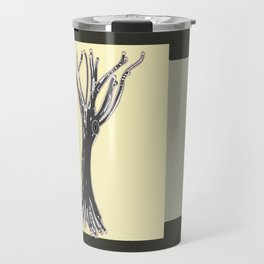 unblinking tree Travel Mug