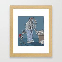 DAD-AT Framed Art Print