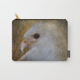 Leucistic Red Tailed Hawk Carry-All Pouch
