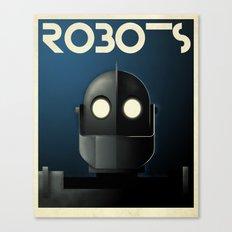 Robots - Iron Giant Canvas Print